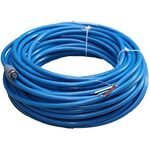 Maretron NMEA 2000 Mid Single-Ended Cordset - Female to Open Pigtail - 25 Meter (blue) DF-DB1-25.0