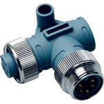 Maretron Mini 90 Deg Male to Female Connector ELB-NM-NF