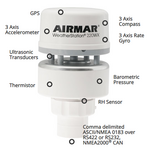 Airmar NMEA 0183/2000 Marine Based WeatherStation (no Relative Humidity)  -  WS-220WX