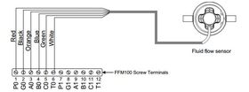 Maretron Fuel Flow Sensor 10-100 LPM (2.6-26.4 GPM) (FFM100 Accessory) - MAR - Wiring Diagram