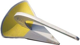 Spade Anchor Model A80 (800 cm2) 15 Lbs. Aluminum Alloy for Boats LOA < 35' - Disp.  < 9,900 lbs.