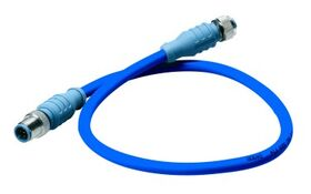 Maretron NMEA 2000 Mid Double-Ended Cordset - M to F - 0.5m (blue)  DM-DB1-DF-00.5
