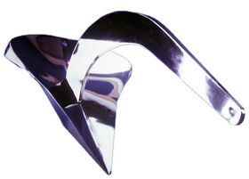 Spade Anchor Model XHR240 (2400 cm2) 157 Lbs. 316 Stainless Steel for Boats LOA < 99' - Disp. < 88,200 lbs.
