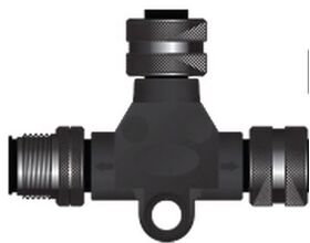 Oceanic Systems Micro Trunk to Micro Drop Tee Adapter - 3802