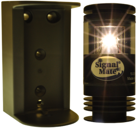 Signal Mate 2 NM 135 Degree White LED Stern Light - 2NM135W with Included Bracket.