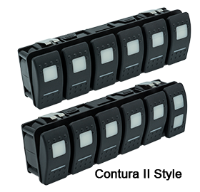 Maretron VMM6 Series Contura® Digital Switch Module, 6 Rocker - A3801-2