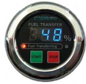 Oceanic Systems Fuel Transfer Controller / Panel Gauge - 3350-FTC