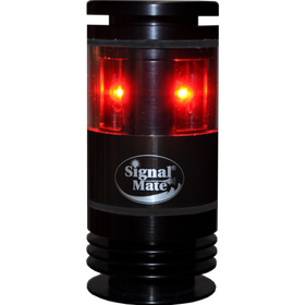 Signal Mate 2NM 360 Degree Red LED Navigation Light