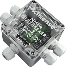 Actisense NDC-4-USB NMEA 0183 Multiplexer (For USB bi-directional port and RS 232 connections)
