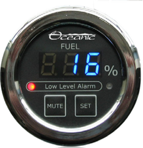 Oceanic Systems 3350-F Fuel Level Panel Gauge